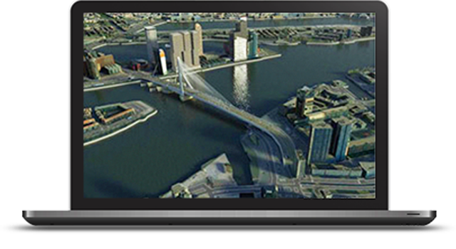 Esri CityEngine for planning, design, and development process.